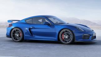 Porsche Cayman GT4, lateral