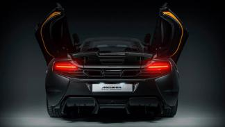 McLaren MSO 650S Project Kilo trasera