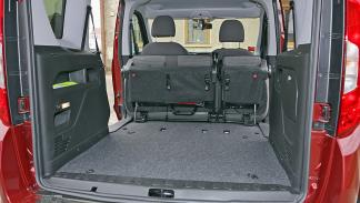 Fiat Dobló 2015 maletero todo plegado