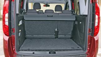 Fiat Dobló 2015 maletero sin plegar