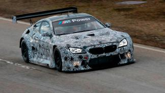 BMW M6 GT3 tests en Alemania