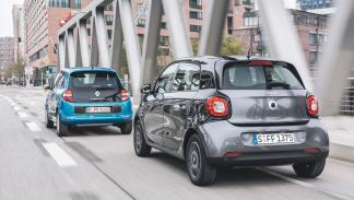 Comparativa Smart ForFour Renault Twingo