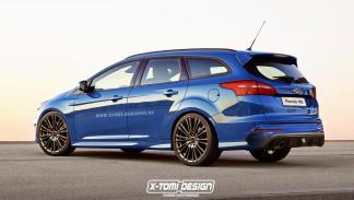 deportivos carrocería familiar Ford Focus RS zaga