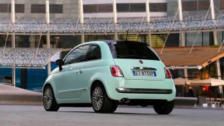 Fiat 500 - trasera