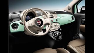 Fiat 500 - interior