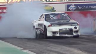 Nissan GT-R más rápidos Heat Treatments R32 dos