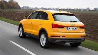 El Audi Q3 trasera
