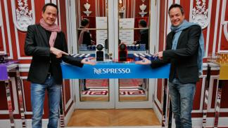 Los hermanos Javier y Sergio Torres, chefs catalanes del restaurante dos cielos