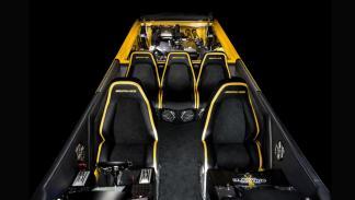 Cigarette Racing 50 Marauder GT S Concept interior