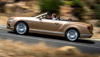 Bentley Continental GT Convertible 2015 perfil