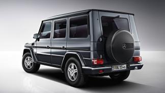 Mercedes Clase G trasera