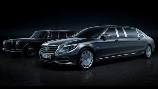 Mercedes-Maybach Pullman 2015 frontal