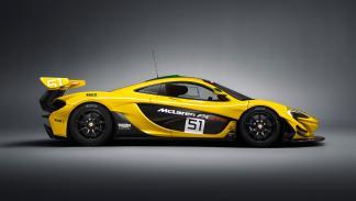 McLaren P1 GTR  perfil