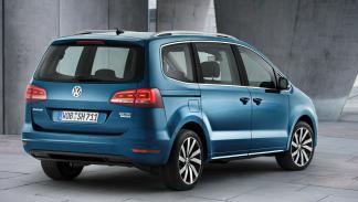 nuevo VW Sharan tres cuartos traseros