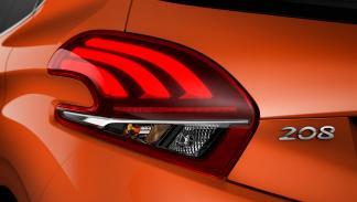 Peugeot 208 2015 faro trasero