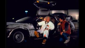 DeLorean DMC-12 - Regreso al Futuro - Doc y Marty