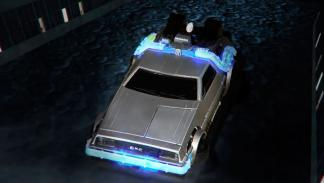 Carcasa DeLorean - Regreso al Futuro - iluminado