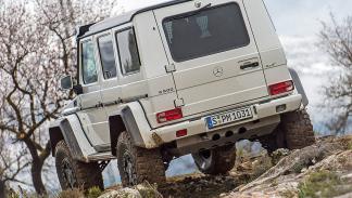 Prueba: Mercedes G 500 4x4² offroad zaga