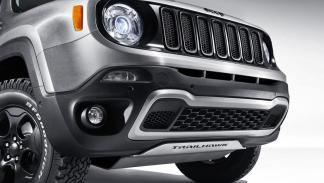 Jeep Renegade Hard Steel Concept rejilla