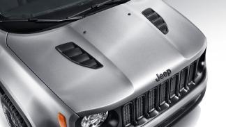 Jeep Renegade Hard Steel Concept capó