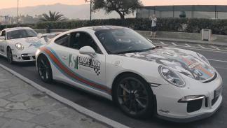 Ruta europea 6to6 - inicio de ruta Porsche 911 Martini