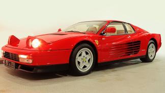 Subasta millonaria en Silverstone - Ferrari Testarossa