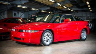 Subasta millonaria en Silverstone - Alfa Romeo SZ