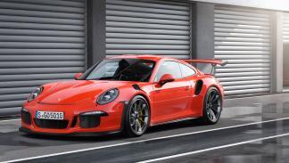 Porsche 911 GT3 RS tres cuartos delantero 2