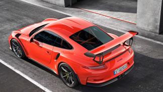 Porsche 911 GT3 RS tres cuartos trasero