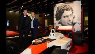 Exposición de Tag Heuer: 30 años de historia con McLaren - homenaje a Senna