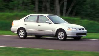 Honda Civic delantera