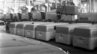 65 aniversario del Volkswagen Transporter 'Bulli' - carrocerías