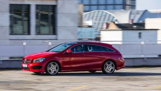 Mercedes CLA Shooting Brake lateral
