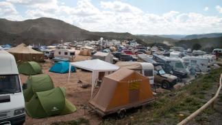 Les Comes 4x4 festival acampada