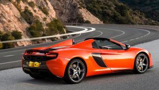 McLaren 650S Spider trasera