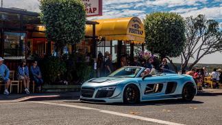 Audi R8 V10 PPI Speed Design llanta calle