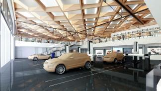 Prototipos en el Centro Innovación Automovilística Jaguar Land Rover