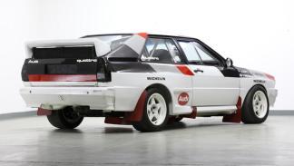 Audi Quattro A1 Grupo B 1982 trasera