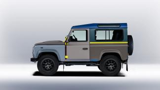 Land Rover Defender de Paul Smith - lateral izquierdo