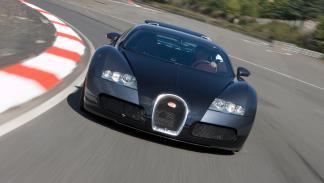 Bugatti Veyron delantera