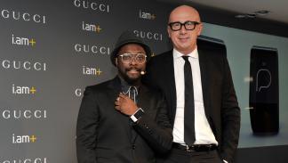 Smartwatch de Will.i.am y Gucci - Will.i.am y Mario Bizzarri