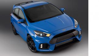 Ford Focus RS 2015 aérea