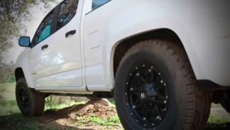 Icon Chevrolet Colorado ZR2 ruedas