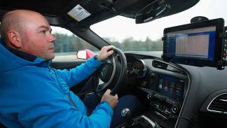 Prueba: Chevrolet Corvette Z06 en circuito curva interior