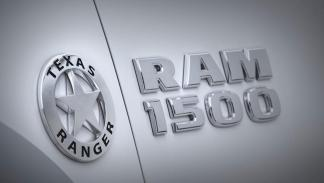 Dodge Ram Texas Ranger placa