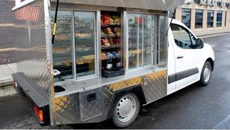 Citroën Berlingo restaurante móvil