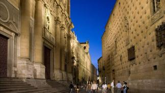 Salamanca, Casa de las Conchas