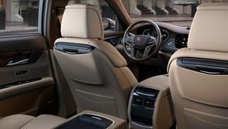 Cadillac CT6 asientos traseros