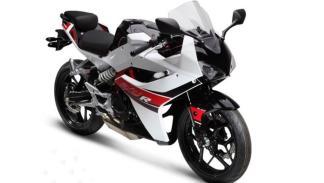 Hyosung GD250R, con motor de 250cc, imagen cien por cien deportiva
