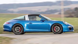 Prueba: Porsche 911 Targa GTS lateral